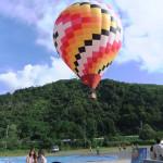 わんちゃんも一緒に大空舞う熱気球体験♪ - 避暑地で人気の白馬旅行 Part3
