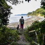 [千葉県富津市]干潮のときだけ現れる秘密のビーチで愛犬と遊ぼう♪