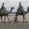 愛犬と一緒に月の砂漠記念像で有名な御宿町へ!<千葉県夷隅郡>